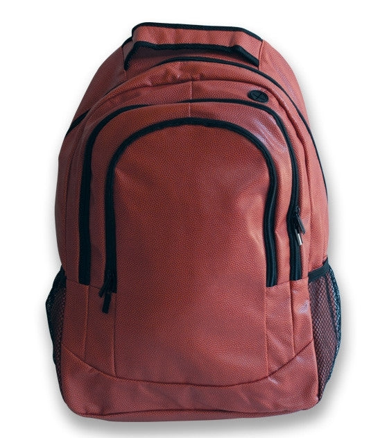 Football Leather Backpack