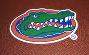 Florida Gators Football Drawstring Bag