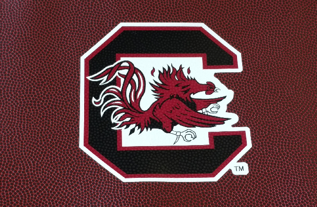 South Carolina Gamecocks Football Drawstring Bag