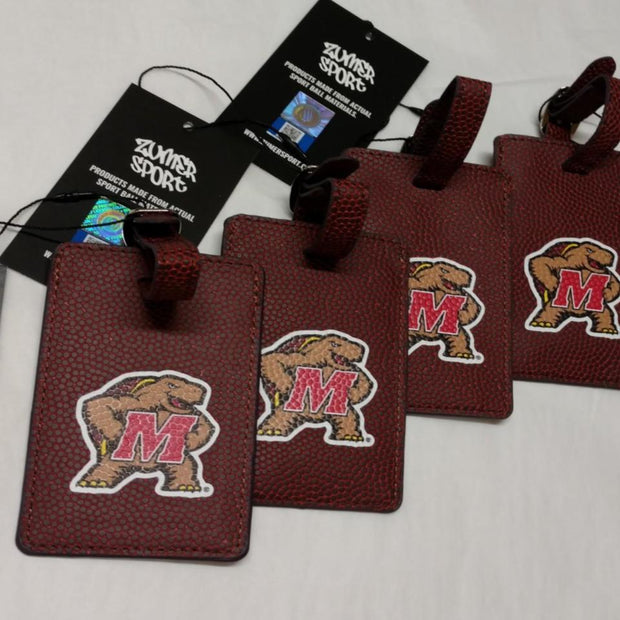 Maryland Terrapins Football Luggage Tags