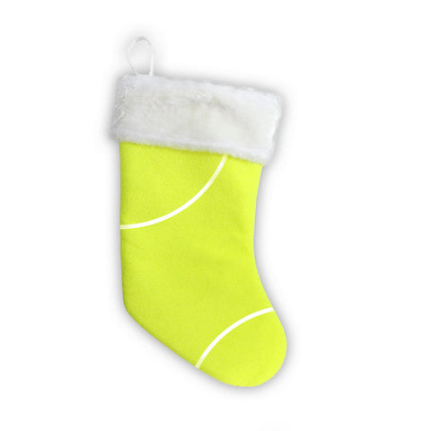 Tennis Christmas Stocking