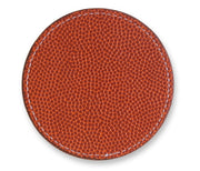 Coaster Made From Basketball Leather Material