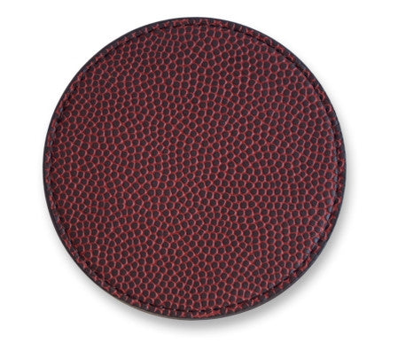 Leather Football Coaster Made With ball Materials
