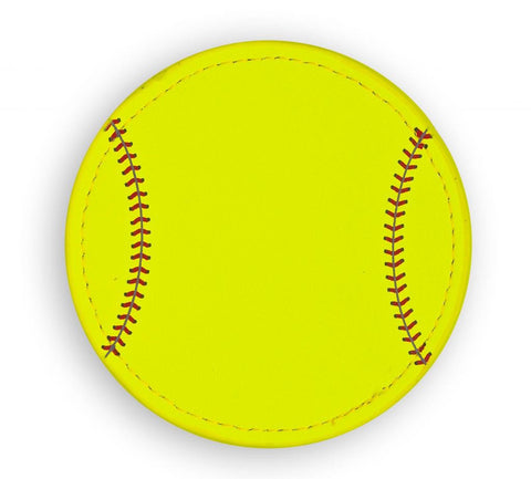 Softball Coaster