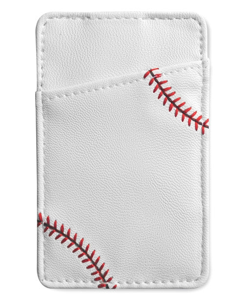 baseball leather money clip