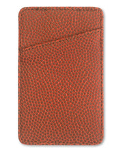 basketball leather money clip card holder