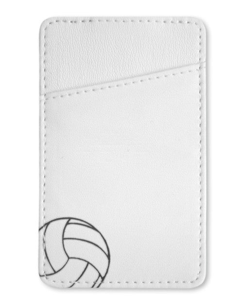 Volleyball Money Clip
