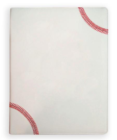 baseball leather portfolio