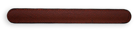 football leather slap bracelet
