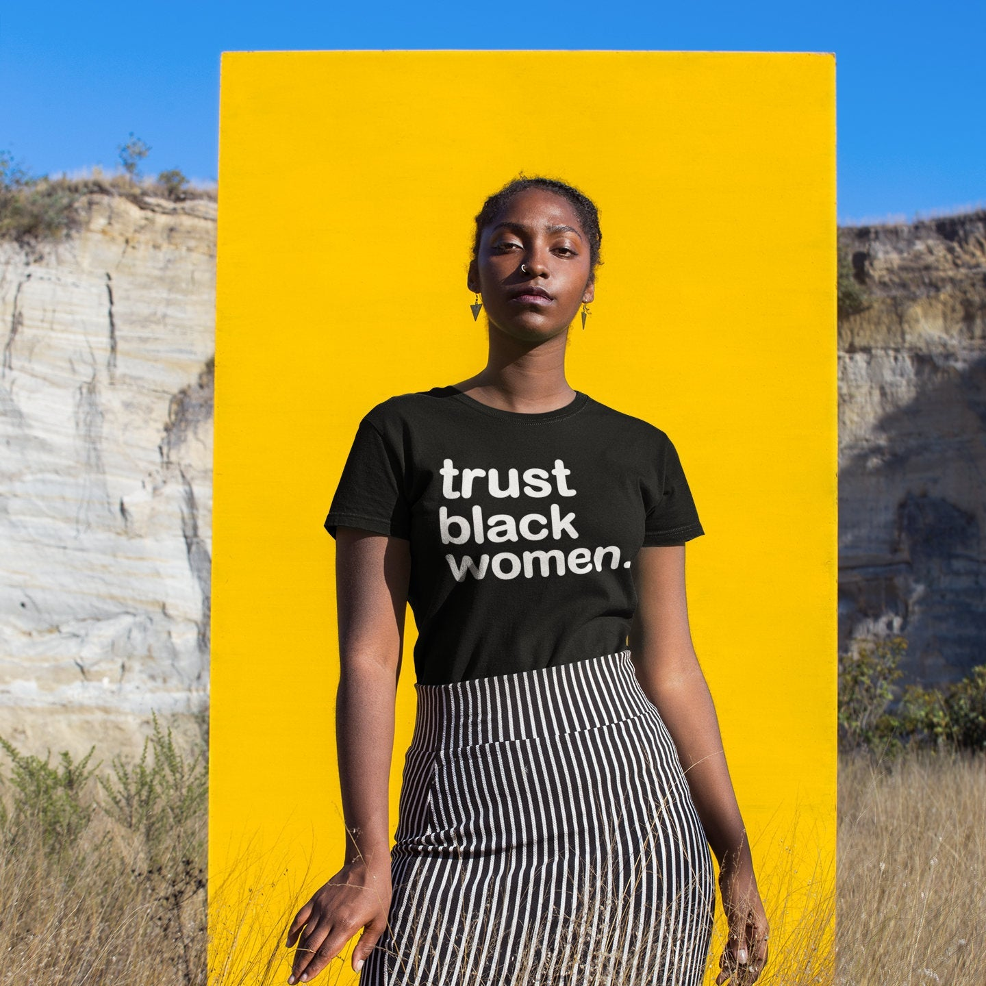 Trust Black Women T-Shirt