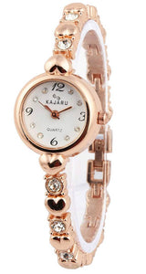 Golden Metal Watch for Women