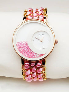 Attractive with Vintex Strap Dial Analog Watch For Women