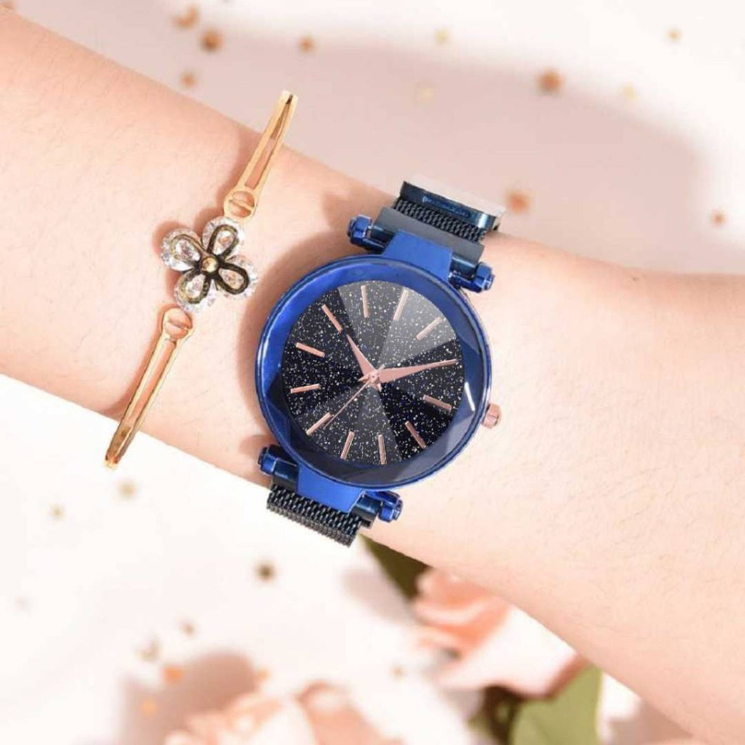 Magnetic Strap Watch For Women