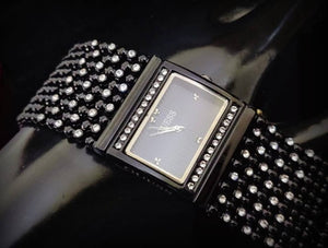 Fancy 8 line Americn Diamond Watch