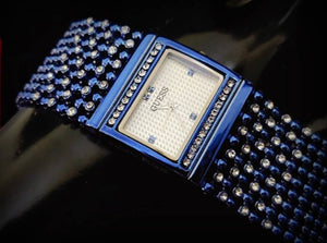 Fancy Americn 8 line Diamond Watch
