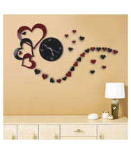 Load image into Gallery viewer, Love Tail , Heart Shaped ArtWork Clock