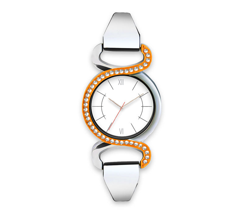Infinity, Silver Colored Women's watch with photo