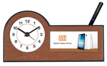 Load image into Gallery viewer, Promotional Table Clock , with Custom logo