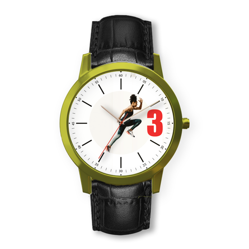 Personalized photo wrist watch