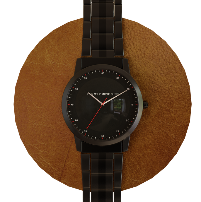 Add Custom Text , personalized watch