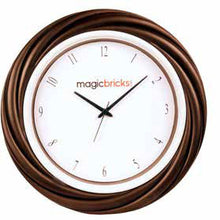 Load image into Gallery viewer, Logo Wall Clock 13.5 inch Round