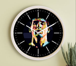 Lionel Messi Fanclub- 12 inch wall clock For True Messi Fans.