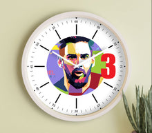 Load image into Gallery viewer, Lionel Messi Fanclub- 12 inch wall clock For True Messi Fans.