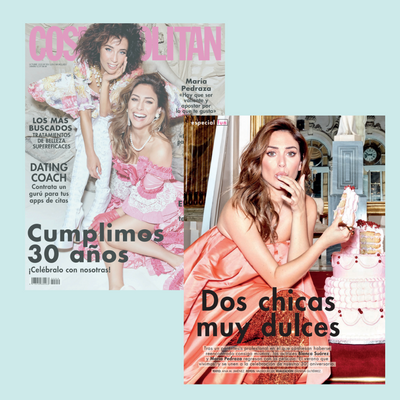 'Dos chicas muy dulces' - Cosmopolitan