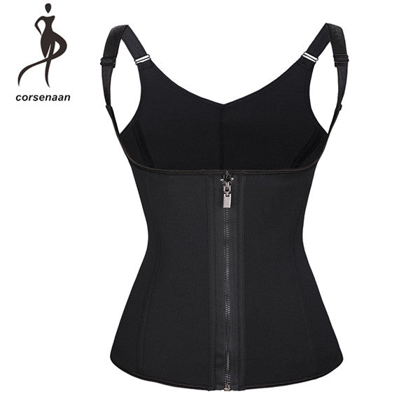 Adjustable Straps And Hooks Neoprene Corset