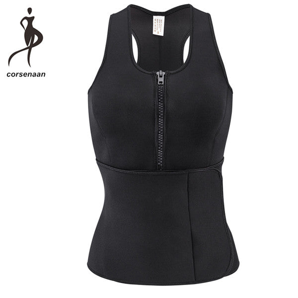 Sauna Vest For Weight Loss Corset w/ Waist Cincher