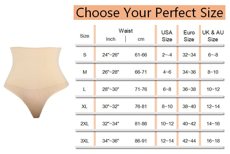 Women Thong Shapewear
