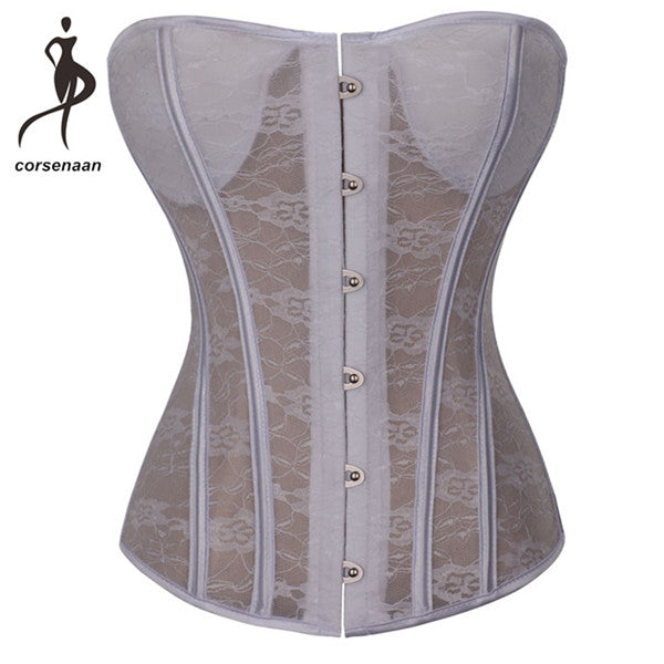 Transparent Padded Body Corset