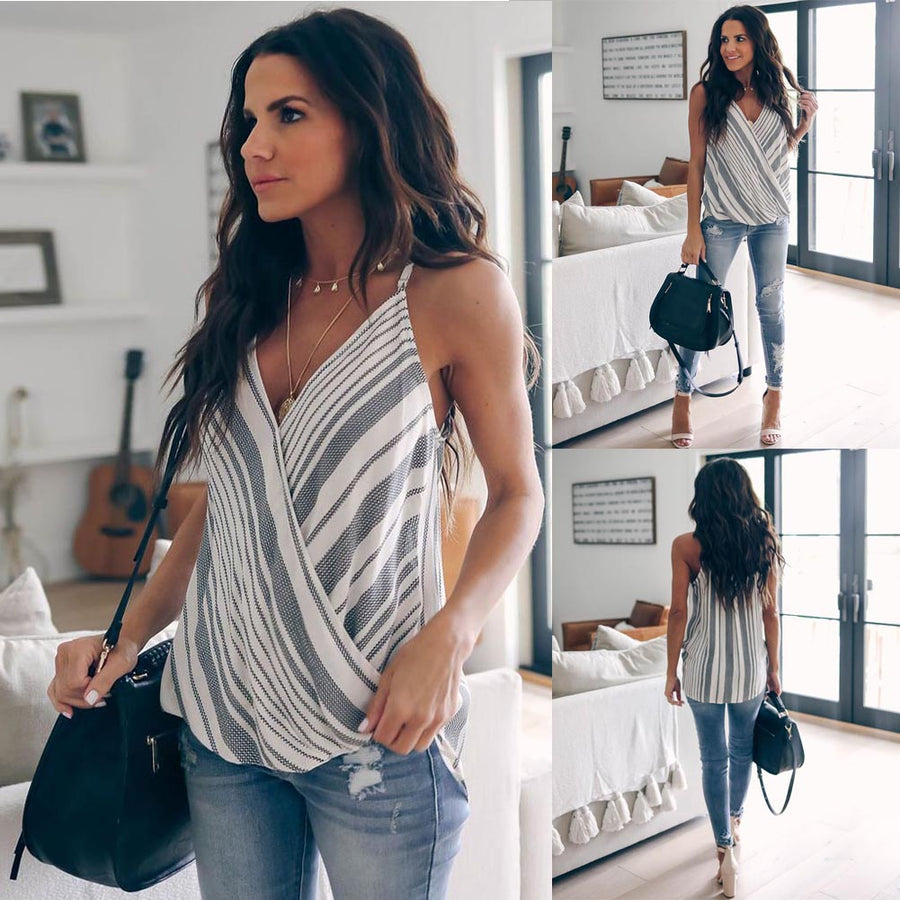 Summer Casual Loose Tank Tops