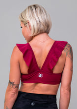 Load image into Gallery viewer, Ruffle Detail Sports Bra (6 colors)