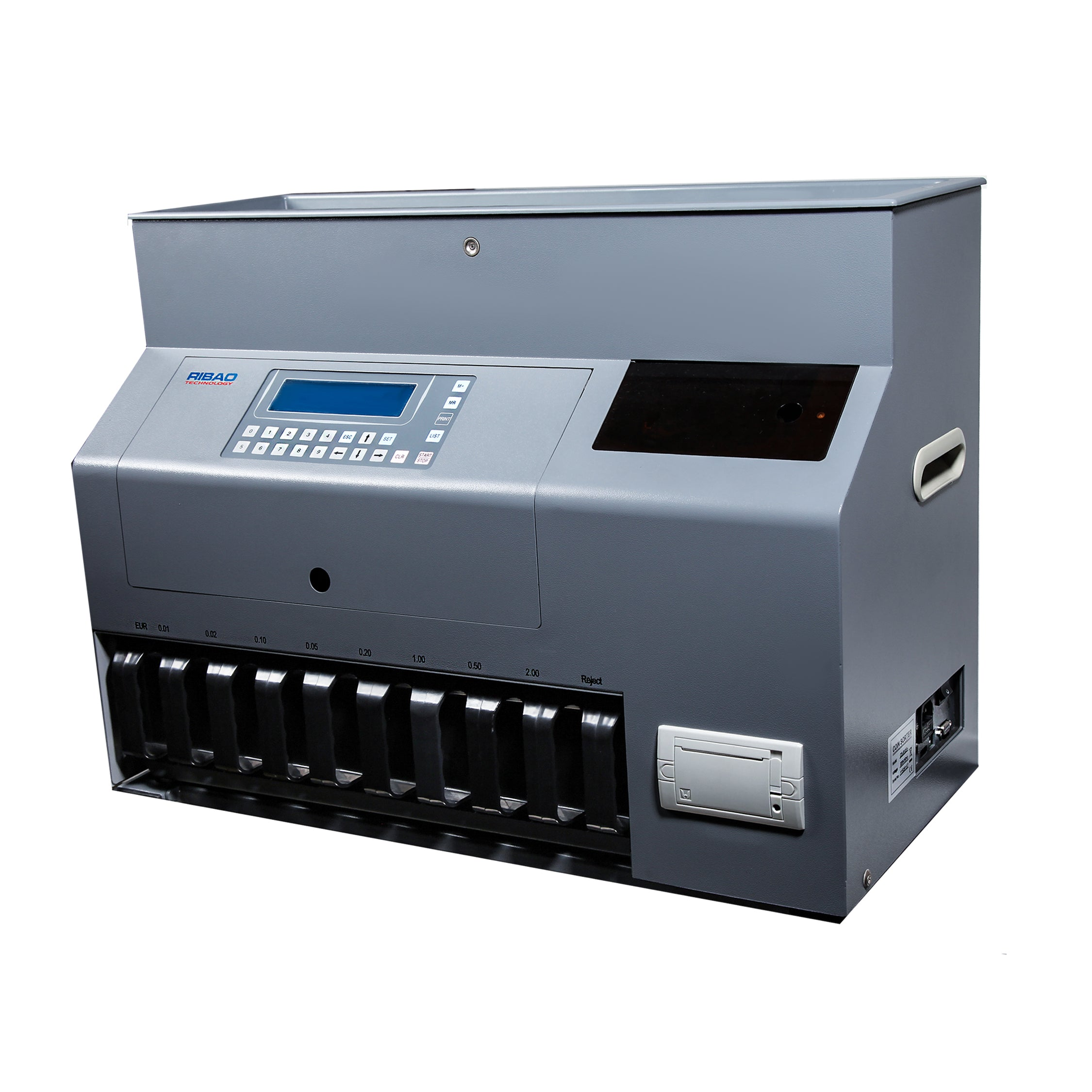 Picture of: Ribao Cs 910s Coin Counting And Sorting Machine Sort Up To 9 Denomina Ribao Technology Europe Aps