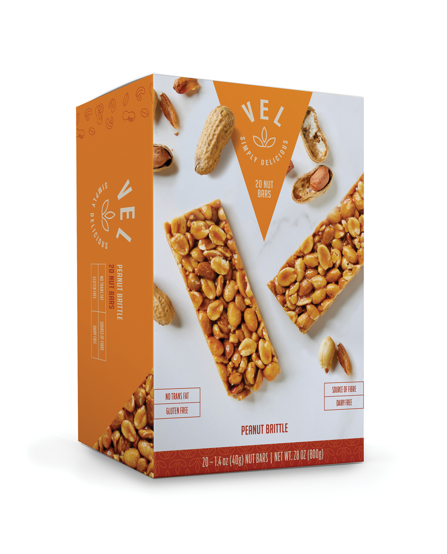 Peanut Brittle 20-pack
