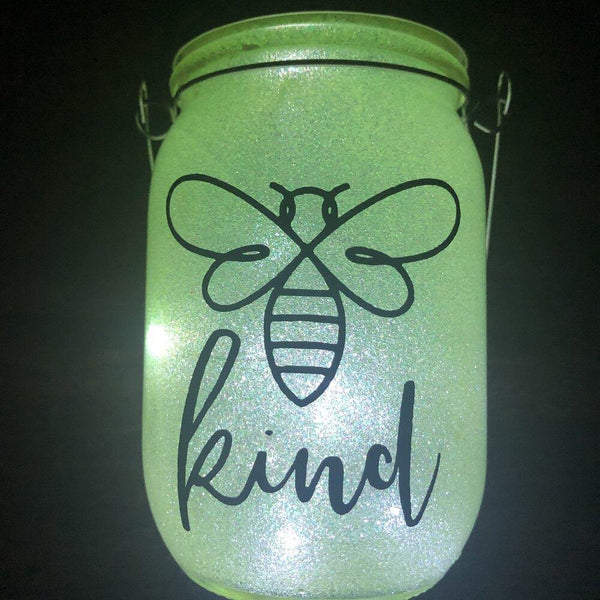 Bee Kind Solar Lantern - Meg Campbell Designs