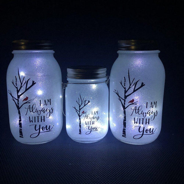 I Am Always With You Solar Lantern - Meg Campbell Designs