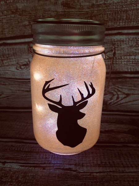 Buck Head Solar Lantern - Meg Campbell Designs