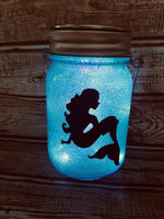 Mermaid Solar Lantern - Meg Campbell Designs