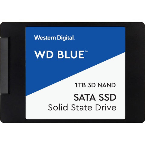 Western Digital Corporation Blue 3D NAND SATA SSD Internal Storage, 1TB
