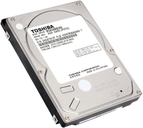 Toshiba 2.5 3TB 5400RPM SATA HDD for External Storage