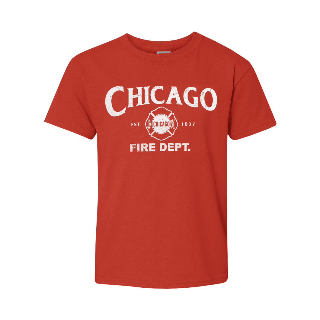 Chicago Fire Department Youth T-Shirt - Chicago History Museum Store