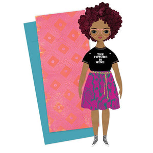 Willow Paper Doll & Greeting Card - Chicago History Museum Store