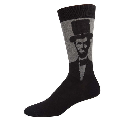Abraham Lincoln Portrait Socks - Chicago History Museum Store