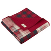 Piecera 127cm, X 178cm Winter Plains Woolrich - Rojo