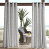 Cortina 127cm x 241cm Outdoor Madison Park Morro - Gris