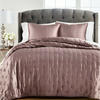 Quilt King/Cal-King Extra Suave Martha Stewart Silky Satin- Morado