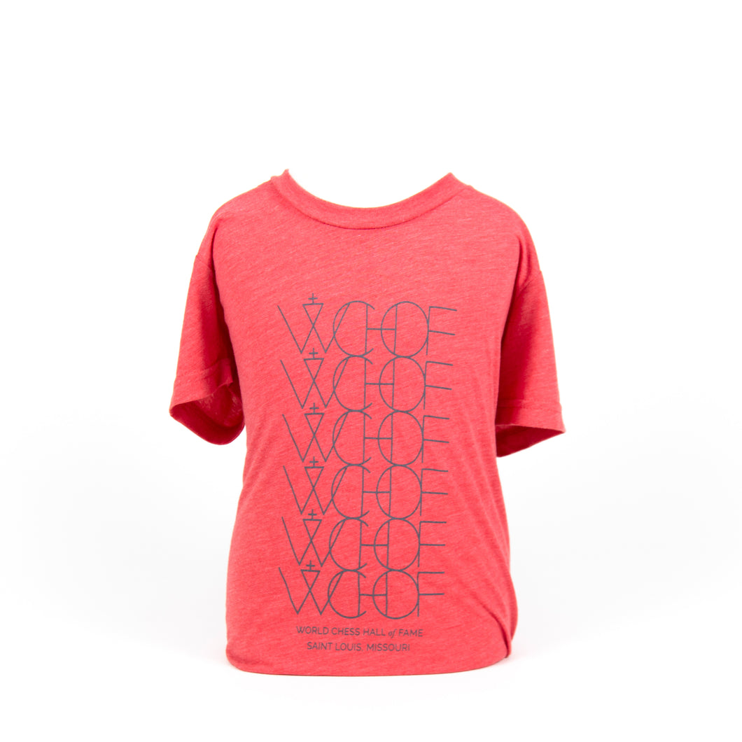 WCHOF Alt Youth Tee - Red Triblend