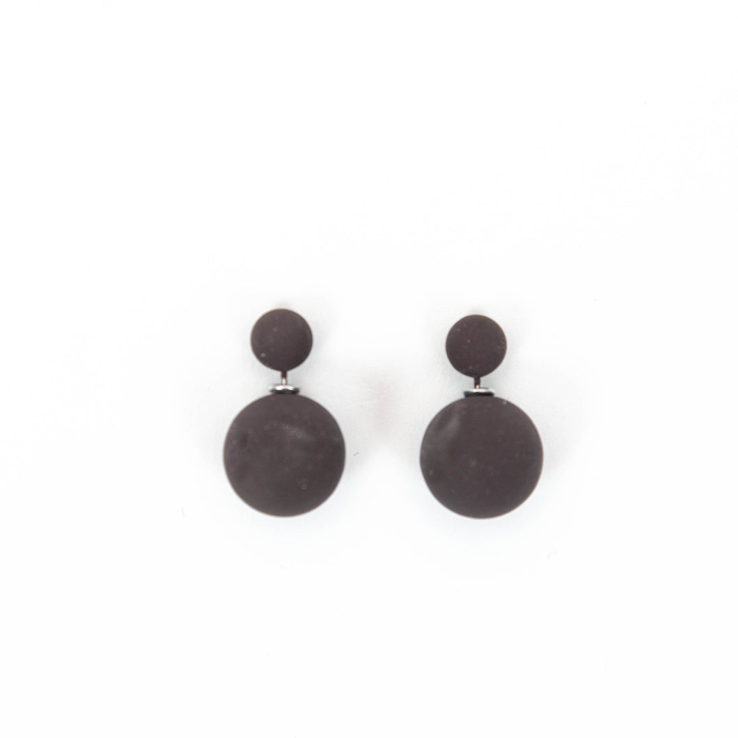Double Ball Earrings